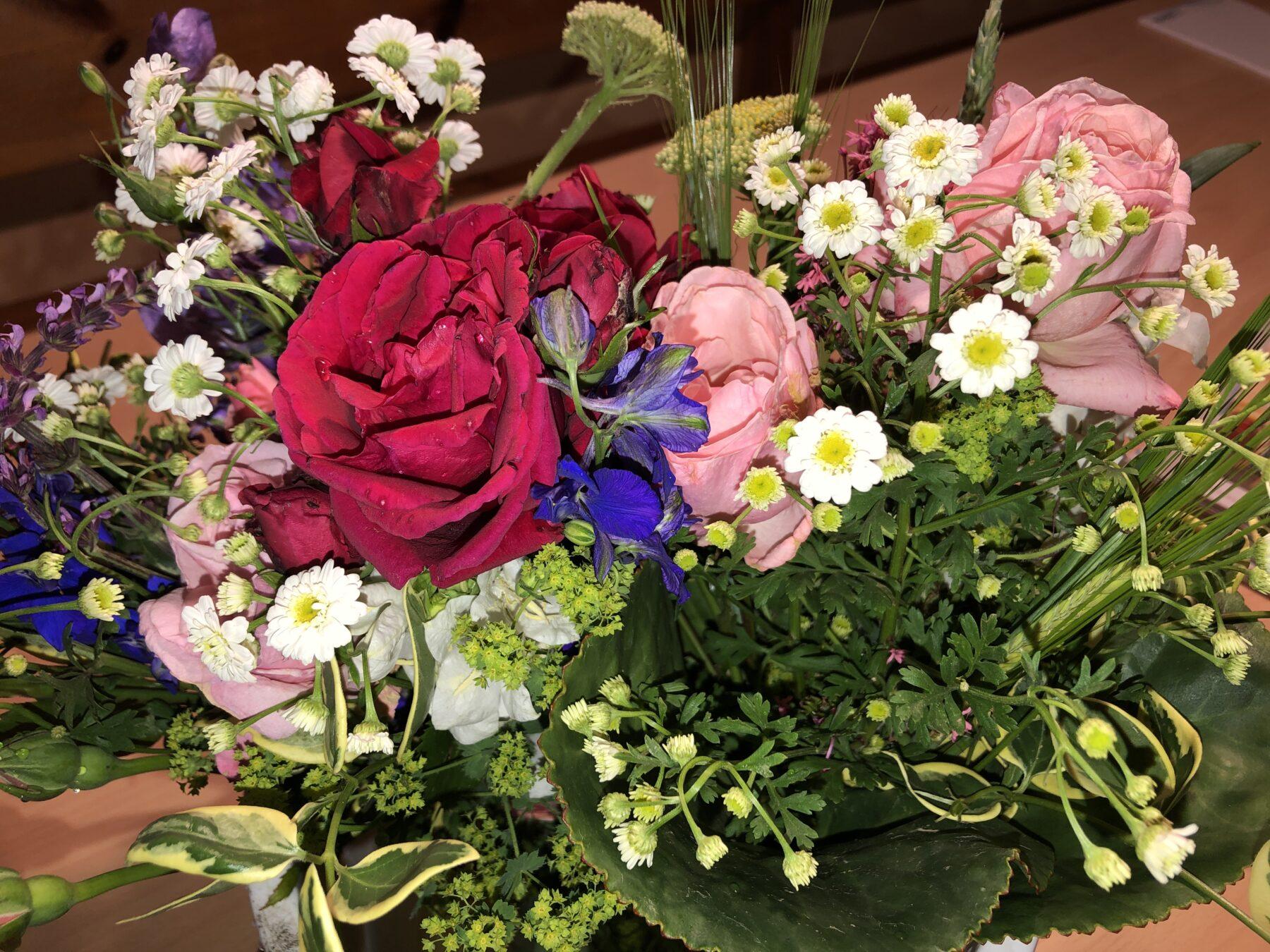 Bild: Blumengebinde