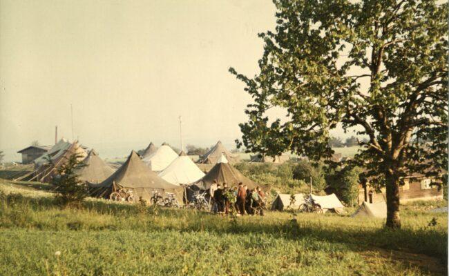 Bild von 1947 Zeltlager auf dem Kapf
