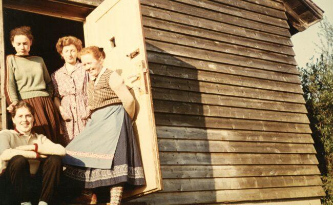 Bild von 1955 Küchenmitarbeiterinnen aus den Anfangsjahren