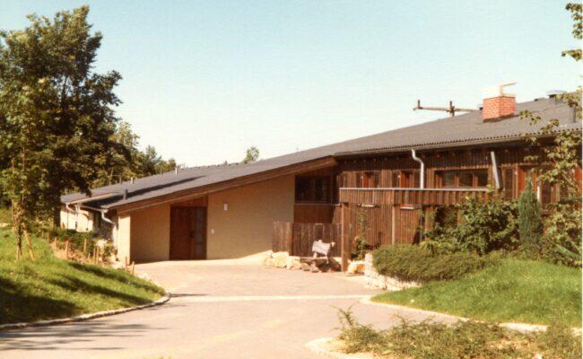 Bild von 1981 Eingang Freizeitheim