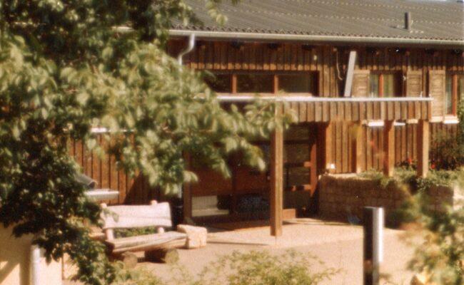 Bild von 1981 Eingang Hauteil A